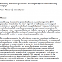 Rethinking deliberative governance: dissecting the Queensland landclearing campaign