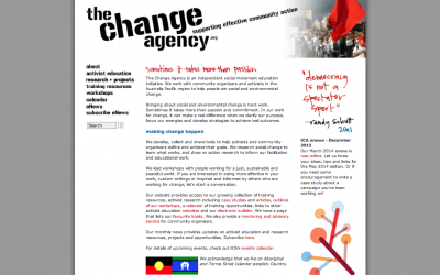 Say hello to the Change Agency's new website!