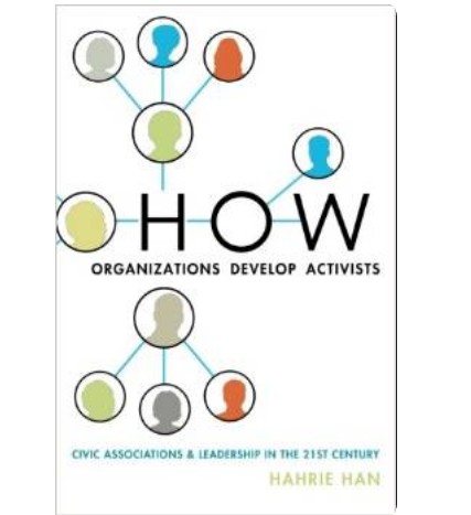 how organisations develop activists