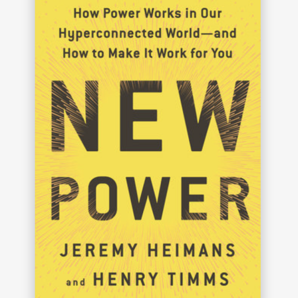 How power works in our hyperconnected world - and how to make tit work for you [book]