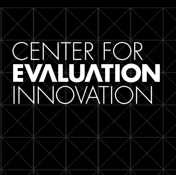centre for evaluation innovation
